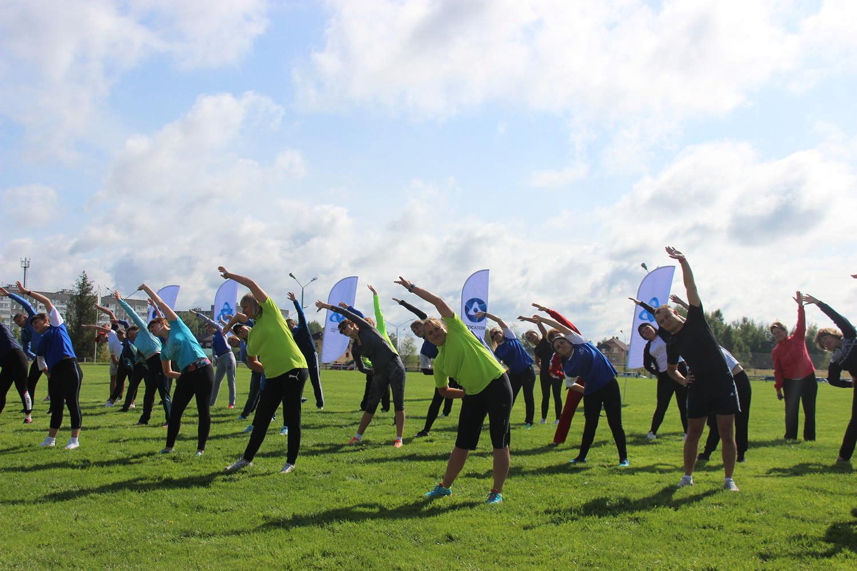 Соревнования по легкоатлетическому многоборью объединили работников Смоленской АЭС и подрядных организаций